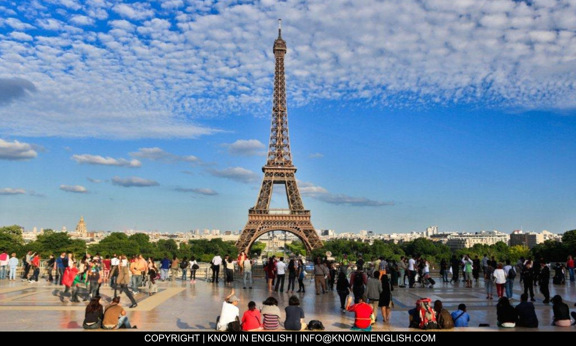 You are currently viewing The most important tourist places in Paris
